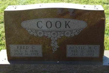 COOK, BESSIE M.C. - Lincoln County, South Dakota | BESSIE M.C. COOK - South Dakota Gravestone Photos