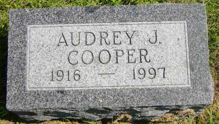 COOPER, AUDREY J - Lincoln County, South Dakota | AUDREY J COOPER - South Dakota Gravestone Photos