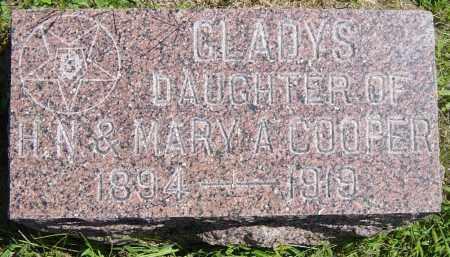 COOPER, GLADYS - Lincoln County, South Dakota   GLADYS COOPER - South Dakota Gravestone Photos
