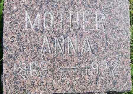 CORNELIUS, ANNA - Lincoln County, South Dakota | ANNA CORNELIUS - South Dakota Gravestone Photos
