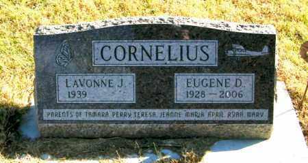 CORNELIUS, EUGENE D - Lincoln County, South Dakota   EUGENE D CORNELIUS - South Dakota Gravestone Photos