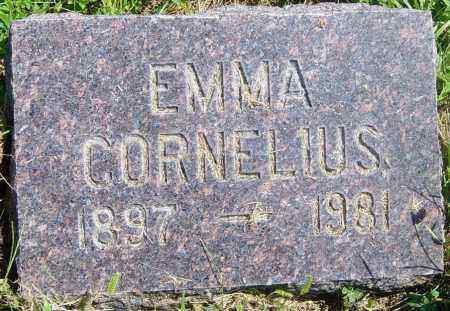 CORNELIUS, EMMA - Lincoln County, South Dakota | EMMA CORNELIUS - South Dakota Gravestone Photos
