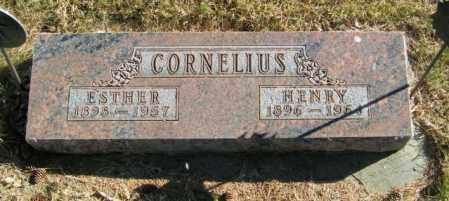 CORNELIUS, ESTHER - Lincoln County, South Dakota   ESTHER CORNELIUS - South Dakota Gravestone Photos