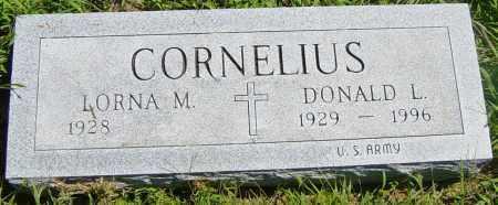 CORNELIUS, DONALD L - Lincoln County, South Dakota | DONALD L CORNELIUS - South Dakota Gravestone Photos