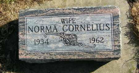 CORNELIUS, NORMA - Lincoln County, South Dakota | NORMA CORNELIUS - South Dakota Gravestone Photos