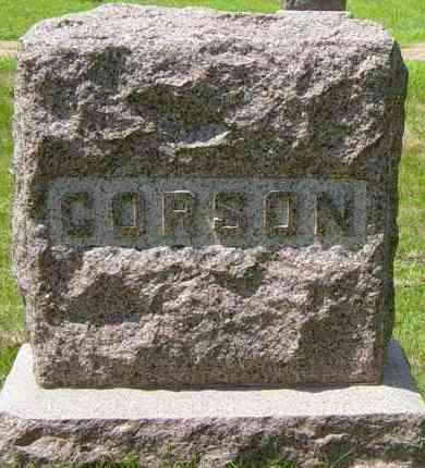 CORSON FAMILY MEMORIAL, J WILLIAM - Lincoln County, South Dakota | J WILLIAM CORSON FAMILY MEMORIAL - South Dakota Gravestone Photos