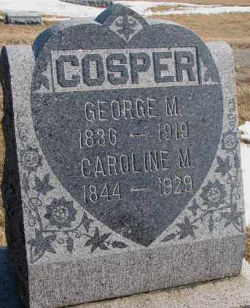 COSPER, GEORGE M. - Lincoln County, South Dakota | GEORGE M. COSPER - South Dakota Gravestone Photos