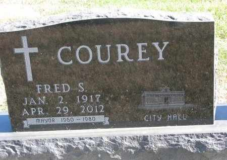 COUREY, FRED S. - Lincoln County, South Dakota | FRED S. COUREY - South Dakota Gravestone Photos