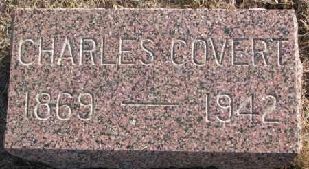 COVERT, CHARLES - Lincoln County, South Dakota | CHARLES COVERT - South Dakota Gravestone Photos