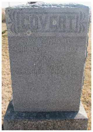 COVERT, MARY A. - Lincoln County, South Dakota | MARY A. COVERT - South Dakota Gravestone Photos