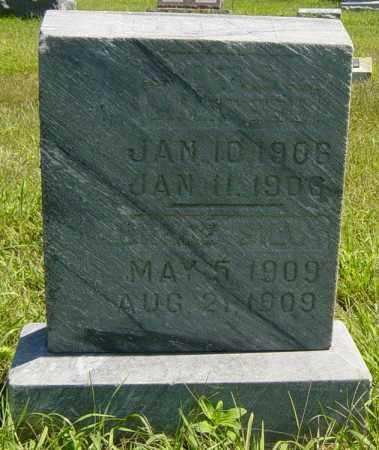 COX, INFANT - Lincoln County, South Dakota   INFANT COX - South Dakota Gravestone Photos