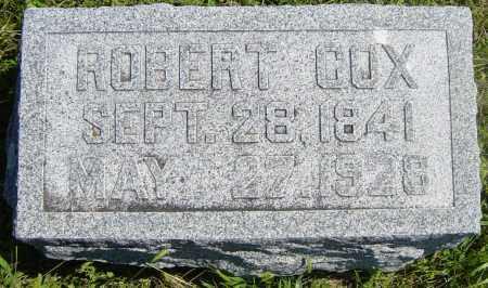 COX, ROBERT - Lincoln County, South Dakota   ROBERT COX - South Dakota Gravestone Photos