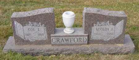 CRAWFORD, ALVILDA J - Lincoln County, South Dakota | ALVILDA J CRAWFORD - South Dakota Gravestone Photos
