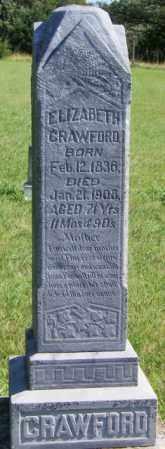 CRAWFORD, ELIZABETH - Lincoln County, South Dakota | ELIZABETH CRAWFORD - South Dakota Gravestone Photos