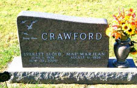 CRAWFORD, MAE MARJEAN - Lincoln County, South Dakota | MAE MARJEAN CRAWFORD - South Dakota Gravestone Photos