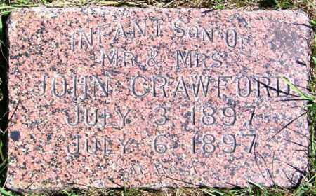 CRAWFORD, INFANT SON - Lincoln County, South Dakota | INFANT SON CRAWFORD - South Dakota Gravestone Photos