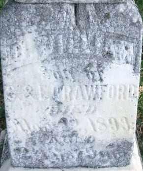 CRAWFORD, J. WILLIAM (INSCRIPTION) - Lincoln County, South Dakota   J. WILLIAM (INSCRIPTION) CRAWFORD - South Dakota Gravestone Photos
