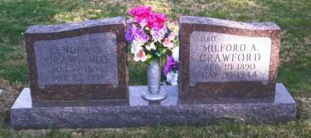 CRAWFORD, MILFORD A. - Lincoln County, South Dakota | MILFORD A. CRAWFORD - South Dakota Gravestone Photos