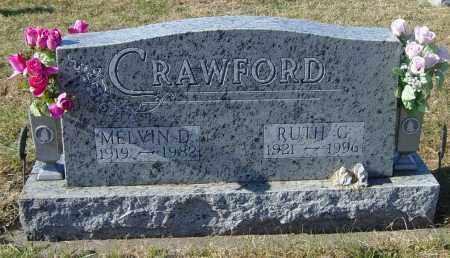 CRAWFORD, MELVIN D - Lincoln County, South Dakota   MELVIN D CRAWFORD - South Dakota Gravestone Photos