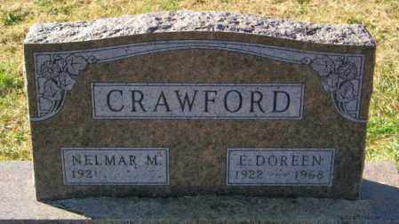 CRAWFORD, E DOREEN - Lincoln County, South Dakota | E DOREEN CRAWFORD - South Dakota Gravestone Photos