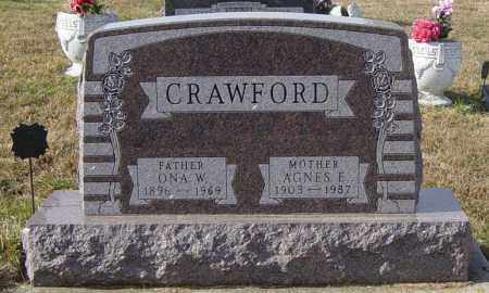 CRAWFORD, ONA W - Lincoln County, South Dakota | ONA W CRAWFORD - South Dakota Gravestone Photos