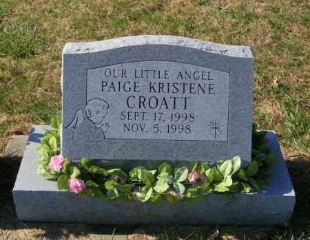CROATT, PAIGE KRISTENE - Lincoln County, South Dakota | PAIGE KRISTENE CROATT - South Dakota Gravestone Photos