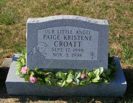 CROATT, PAIGE KRISTENE - Lincoln County, South Dakota | PAIGE KRISTENE CROATT - South Dakota Gravestone Photos