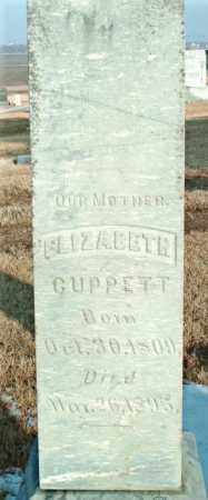 CUPPETT, ELIZABETH - Lincoln County, South Dakota | ELIZABETH CUPPETT - South Dakota Gravestone Photos