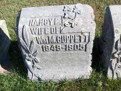CUPPETT, NANCY E. - Lincoln County, South Dakota | NANCY E. CUPPETT - South Dakota Gravestone Photos