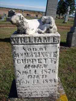 CUPPETT, WILLIAM E - Lincoln County, South Dakota | WILLIAM E CUPPETT - South Dakota Gravestone Photos