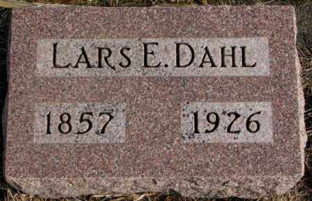 DAHL, LARS E. - Lincoln County, South Dakota | LARS E. DAHL - South Dakota Gravestone Photos
