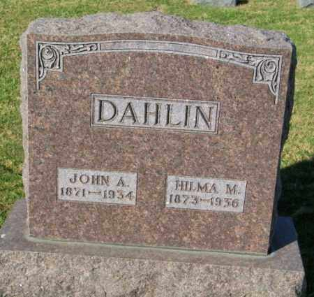 DAHLIN, JOHN A. - Lincoln County, South Dakota | JOHN A. DAHLIN - South Dakota Gravestone Photos