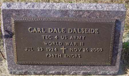 DALESIDE, CARL DALE - Lincoln County, South Dakota   CARL DALE DALESIDE - South Dakota Gravestone Photos