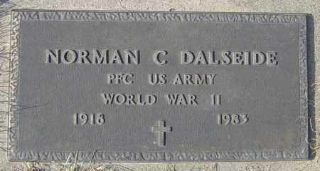 DALESIDE, NORMAN C - Lincoln County, South Dakota | NORMAN C DALESIDE - South Dakota Gravestone Photos