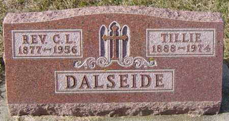 DALESIDE, REV C L - Lincoln County, South Dakota | REV C L DALESIDE - South Dakota Gravestone Photos