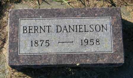 DANIELSON, BERNT - Lincoln County, South Dakota | BERNT DANIELSON - South Dakota Gravestone Photos