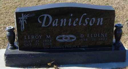 DANIELSON, LEROY M - Lincoln County, South Dakota | LEROY M DANIELSON - South Dakota Gravestone Photos