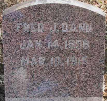 DANN, FRED - Lincoln County, South Dakota | FRED DANN - South Dakota Gravestone Photos