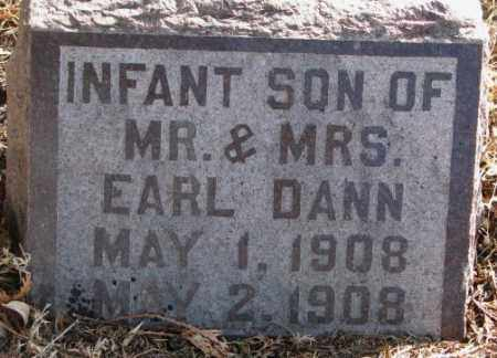 DANN, INFANT SON - Lincoln County, South Dakota | INFANT SON DANN - South Dakota Gravestone Photos
