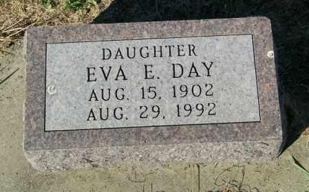 DAY, EVA E. - Lincoln County, South Dakota | EVA E. DAY - South Dakota Gravestone Photos