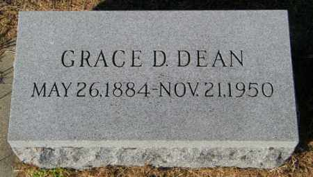 DEAN, GRACE D. - Lincoln County, South Dakota | GRACE D. DEAN - South Dakota Gravestone Photos
