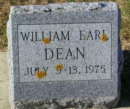 DEAN, WILLIAM EARL - Lincoln County, South Dakota | WILLIAM EARL DEAN - South Dakota Gravestone Photos