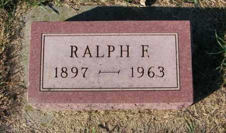 DEINEMA, RALPH F. - Lincoln County, South Dakota | RALPH F. DEINEMA - South Dakota Gravestone Photos
