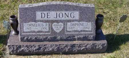 "DEJONG, CORNELIUS P  ""CORNIE"" - Lincoln County, South Dakota | CORNELIUS P  ""CORNIE"" DEJONG - South Dakota Gravestone Photos"