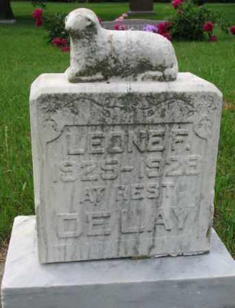 DELAY, LEONE F. - Lincoln County, South Dakota | LEONE F. DELAY - South Dakota Gravestone Photos