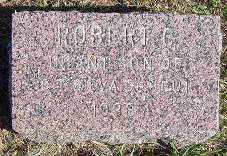 DENEUI, ROBERT C - Lincoln County, South Dakota | ROBERT C DENEUI - South Dakota Gravestone Photos