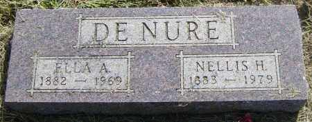DENURE, NELLIS H - Lincoln County, South Dakota | NELLIS H DENURE - South Dakota Gravestone Photos