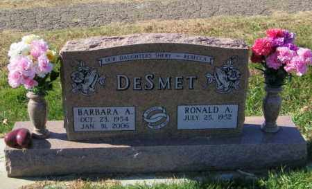 DESMET, RONALD A - Lincoln County, South Dakota | RONALD A DESMET - South Dakota Gravestone Photos