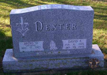 DEXTER, ARDIS D. - Lincoln County, South Dakota | ARDIS D. DEXTER - South Dakota Gravestone Photos