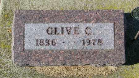 DIEKMAN, OLIVE C - Lincoln County, South Dakota | OLIVE C DIEKMAN - South Dakota Gravestone Photos